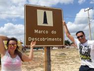 Ponto Turistico na praia do Marco