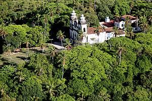 Igreja de N.Sra dos Prazeres: Localização privilegiada no Monte Guararapes -