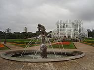 Tarde nublada e fria no Jardim Botânico