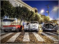 Carros antigos, uma das atrações...