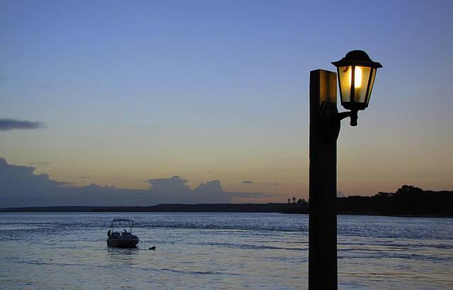 Lampi�o ao P�r-do-Sol