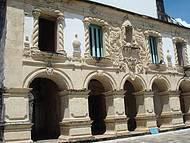 Lateral da Igreja N. S. da Guia, estilo barroco tropical