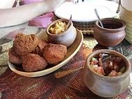 Entradinha: acaraj�s deliciosos
