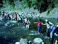 Atravessando o Rio do Boi