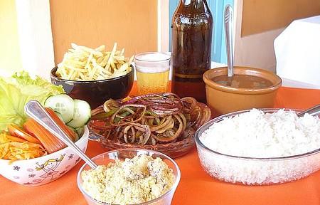 Restaurante Cantina Mineira - Arroz-feijão-bife-batata frita!