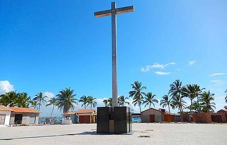 Praça da 1ª missa no Brasil - Mudança de rotina