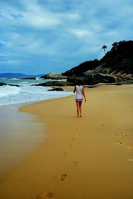 Passeio no litoral catarinense, praia do estaleiro!