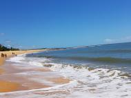 Mar calmo e tranquilo