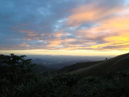 Mirante do Pico Alto - Muitos cores ao entardecer