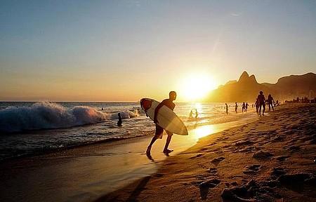 Ipanema e Arpoador também reservam boas ondas