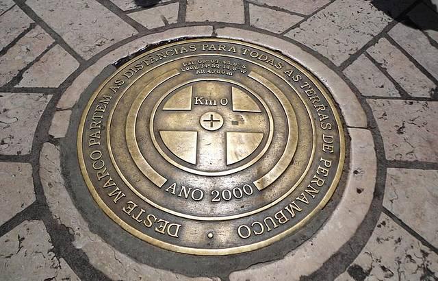 Quil�metro Zero da Cidade