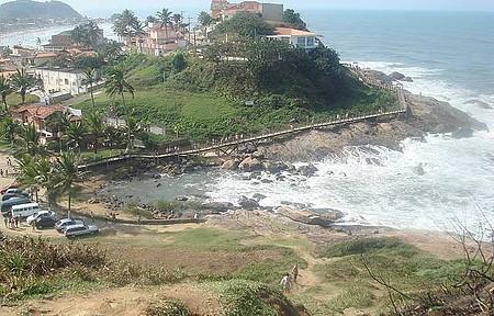 Morro do Cibratel - Alto do morro entre as Praias do Sonho e Cibratel.