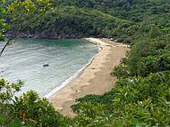 Bela e Isolada Praia do Jabaquara