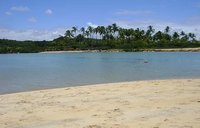 Relax garantido no encontro das águas do rio com o mar