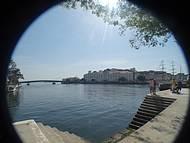 Vista parcial do 1� Distrito Naval