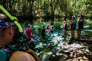 Flutuação no Rio Triste