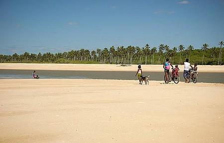 Praia da Barra - Cenário sempre rústico