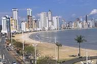 Praia Central vista do teleférico