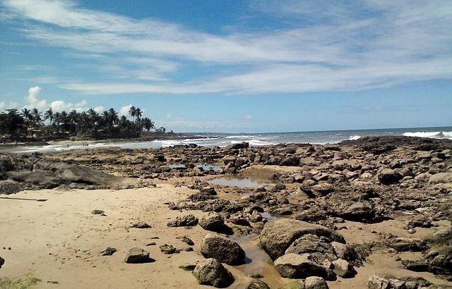 Praia dos Milagres - Cai N'água