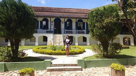 Hotel Fazenda Villa Forte - Casarão-Recepção.