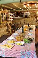Boa mesa na Estrada do Sabor