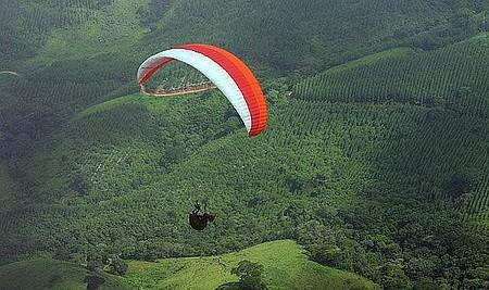 Meu voo no Pico Agudo