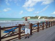 Morro do Careca ao Fundo