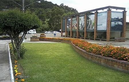 Praça Central - Flores em Urupema