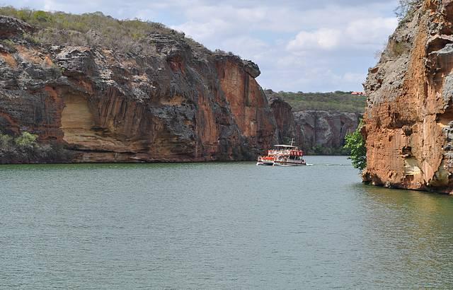 Passeio de barco no Rio S�o Francisco