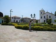 Bucólica cidadezinha na Chapada