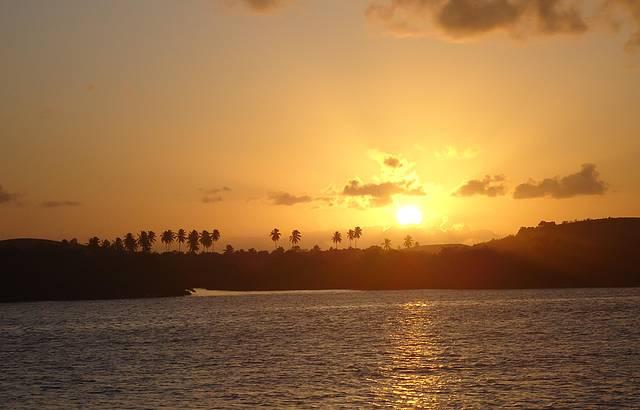 Pôr do sol em Maracaípe