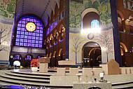 Vista interna do Santuário de Aparecida