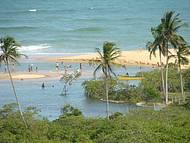 Vista panorâmica da Praia dos Coqueiros