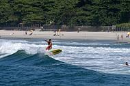 Point da juventude, Camburi brinda os surfistas com boas ondas
