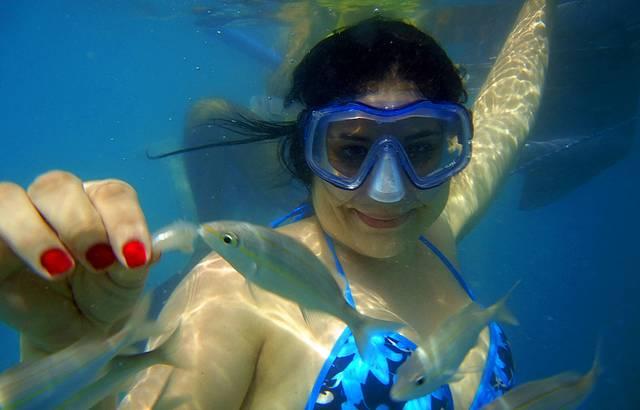 Mergulho em Maracajau/RN