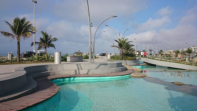 Praça em Cabo Frio