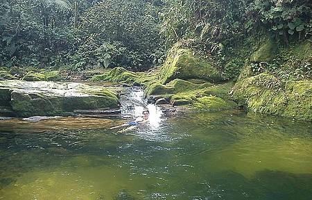 Cachoeira - Lago de Cristal