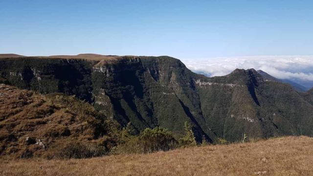 Cânion Monte Negro é o ponto mais alto do RS, com mais de 1.400 metros
