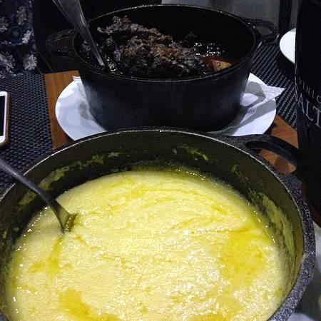 Caldeira - Ossobuco com polenta cremosa: nota 10