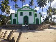 Igreja de São Benedito, Praia de Carneiros