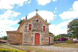 Igreja Nossa Senhora do Rosário: Belíssima obra feita em pedra -