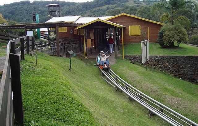 Adrenalina e diversão em Canela