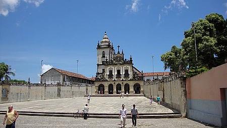 Ádrio e Igreja de São Francisco em João Pessoa