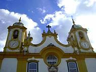 Considerada a segunda igreja mais rica em Ouro do Brasil