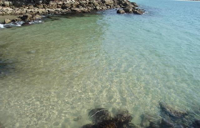Águas cristalinas de Bombinhas