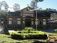 Paisagem do prédio da Estação Ferroviária