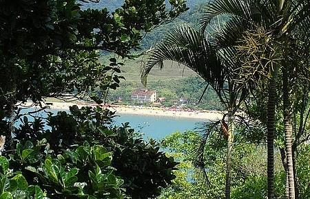 Ilha da Cocanha - Vista da praia da Cocanha