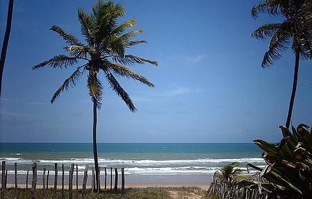 Passeio pelo Litoral Norte da Bahia - Praia de Imbassaí