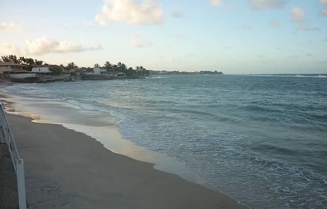 Fim de tarde na Praia de Camurupim (vista do restaurante Camarutaba)