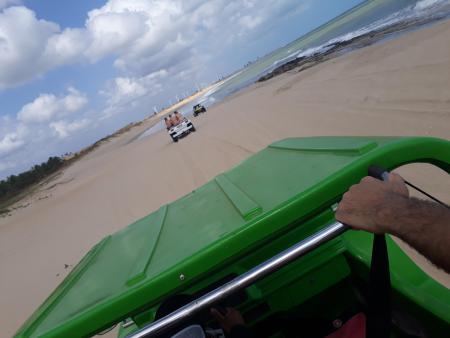 Praia - Passeio de Bugue